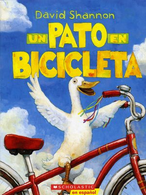 cover image of Un Pato en Bicicleta