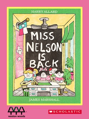 cover image of Miss Nelson is Back