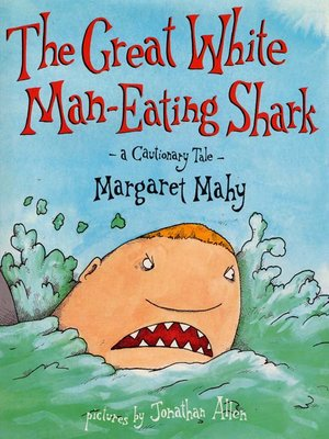cover image of Great White Man-Eating Shark