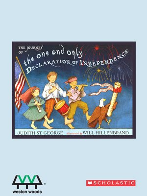 cover image of The Journey of the One & Only Declaration of Independence