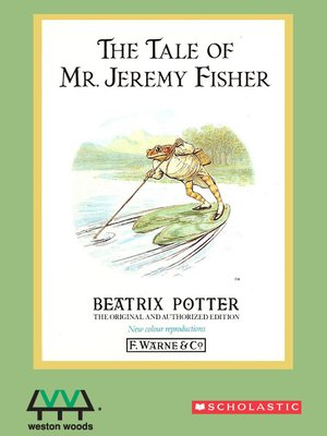 cover image of Tale Of Mr. Jeremy Fisher