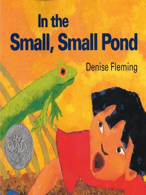 cover image of In The Small, Small Pond