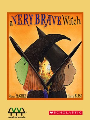 cover image of A Very Brave Witch