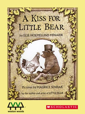 cover image of A Kiss for Little Bear