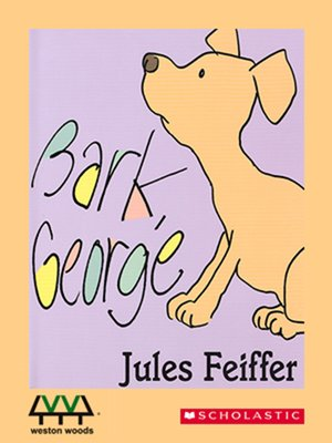 cover image of Bark, George