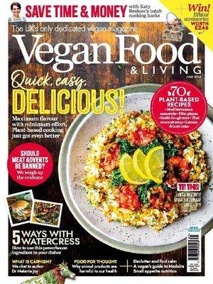 cover image of Vegan Food & Living