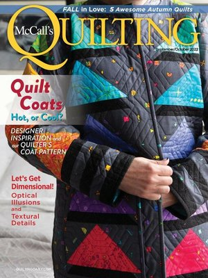 cover image of McCall's Quilting