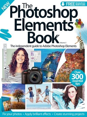 cover image of The Photoshop Elements Book