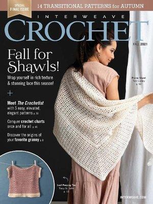 cover image of Interweave Crochet
