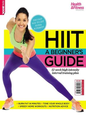 cover image of HIIT a Beginner's Guide