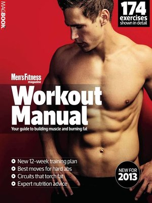 cover image of Mens Fitness Workout Manual 2013
