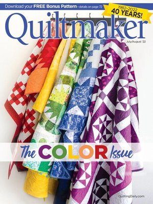 cover image of Quiltmaker