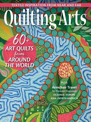cover image of Quilting Arts Magazine