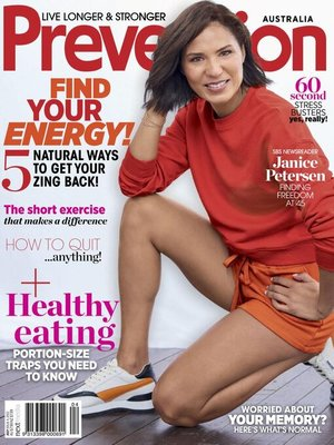 cover image of Prevention Magazine Australia