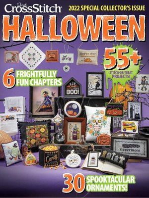 cover image of Just CrossStitch