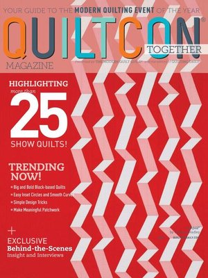 cover image of QUILTCON 2021