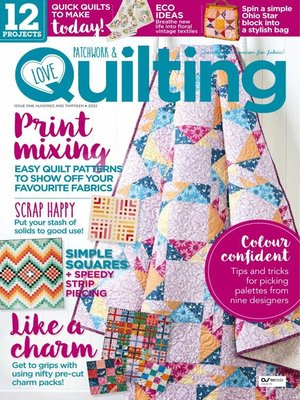 cover image of Love Patchwork & Quilting