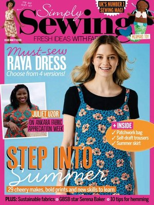 cover image of Simply Sewing