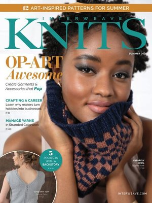 cover image of Interweave Knits