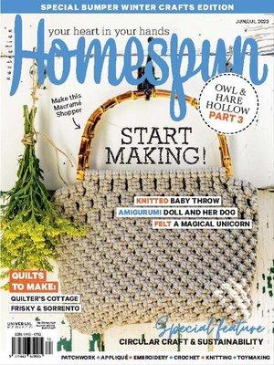 cover image of Australian Homespun