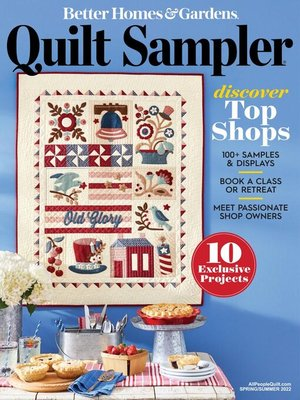 cover image of Quilt Sampler