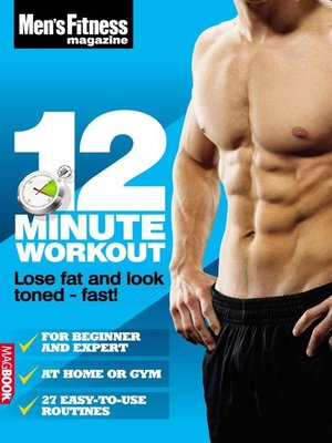 cover image of Men's Fitness 12 Minute Workout