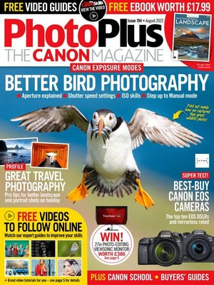 cover image of PhotoPlus : The Canon Magazine
