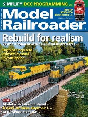 cover image of Model Railroader