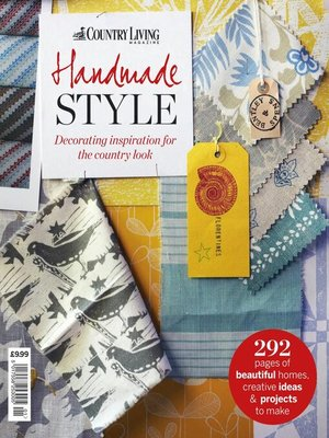 cover image of Country Living Bookazine Handmade Style