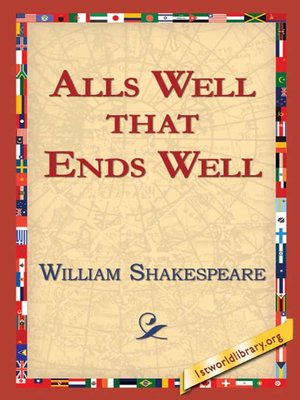 cover image of Alls Well That Ends Well