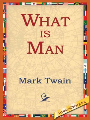 cover image of What Is Man