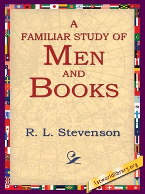 cover image of A Familiar Study of Men and Books
