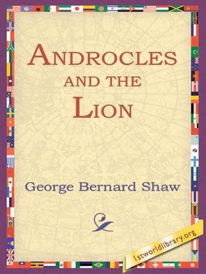 cover image of Androcles and the Lion