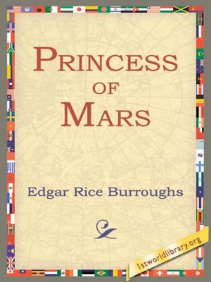 cover image of Princess of Mars