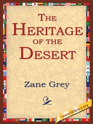 cover image of The Heritage of the Desert