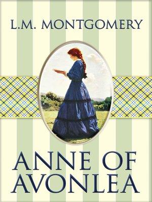 cover image of Anne of Avonlea