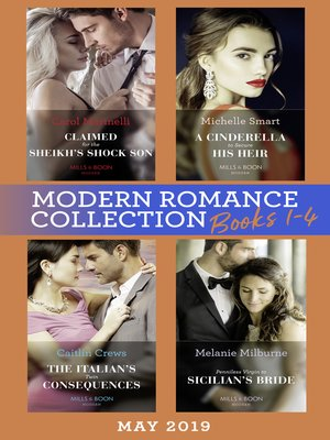cover image of Modern Romance May 2019