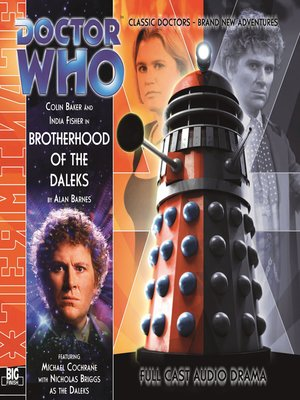 cover image of Brotherhood of the Daleks