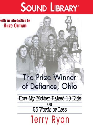 The prize winner of defiance ohio book