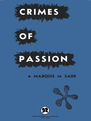 cover image of Crimes of Passion