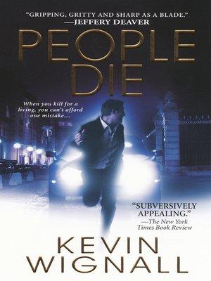 cover image of People Die