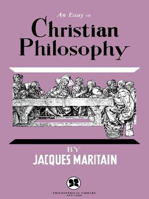essay on christendom