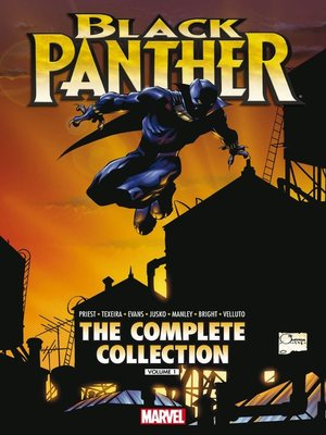 cover image of Black Panther by Christopher Priest: The Complete Collection, Volume 1