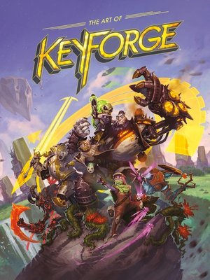 cover image of The Art of Keyforge