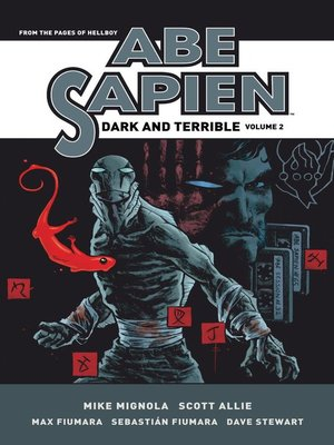cover image of Abe Sapien (2008): Dark and Terrible, Volume 2