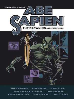 cover image of Abe Sapien: The Drowning and Other Stories