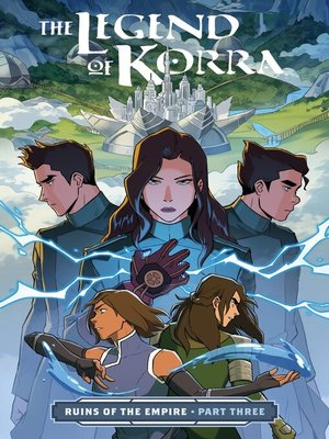 cover image of The Legend of Korra: Ruins of the Empire