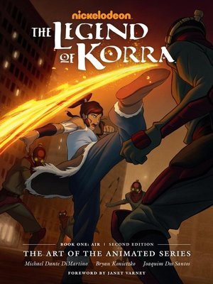 cover image of The Legend of Korra: The Art of the Animated Series, Book One Air