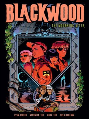 cover image of Blackwood The Mourning After