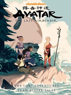 cover image of The Lost Adventures and Team Avatar Tales